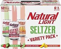 Natural Light Seltzer - Variety 12 Pack