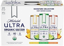 Michelob Ultra Organic Seltzer - Variety 24 Pack