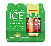 Sparkling Ice - Variety 12 Pack Green