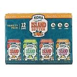 Kona Spiked Island Seltzers - Variety 12 Pack